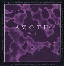 azoth: acte 1