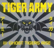 pochette de l'album ghost tigers rise de tiger army