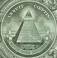 The Eye of Providence (one dollar US bill)