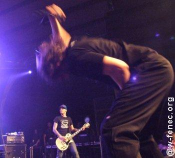 Mass Hysteria live (AthRock 2007)