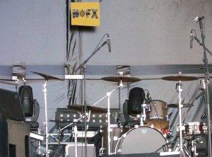 Hellfest 2008: NoFX et sa bannière