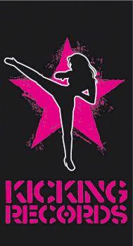 Logo Kicking Records par Schawack