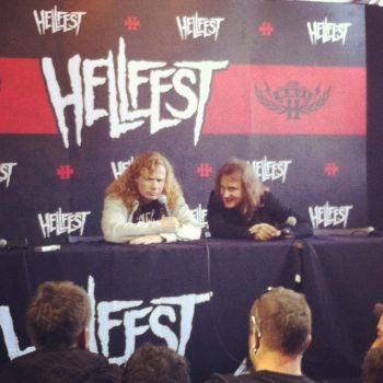 Megadeth en conf'