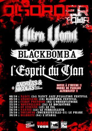 Disorder Tour 2010